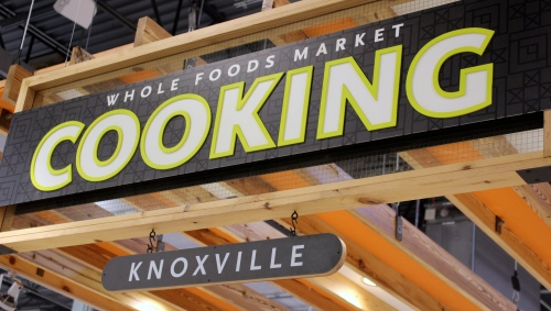 Cooking sign, Whole Foods Knoxville