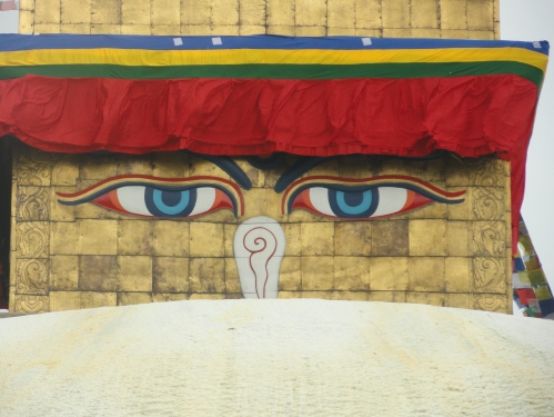 Eyes of Boudhanath Stupa