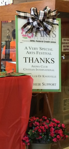 Great kick-off to the festival, thanks to volunteers and sponsors!