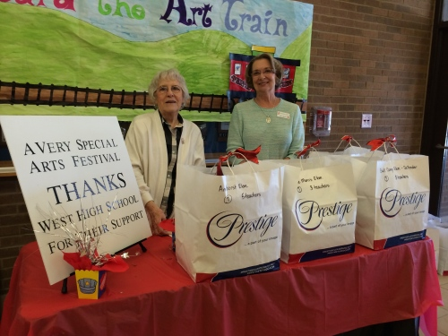 Volunteers at A Very Special Arts Festival 2015