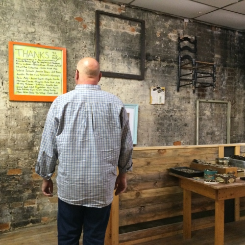 Taking a closer look:  art and salvage on display