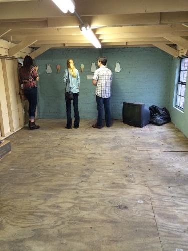 Upstairs space for future art studio