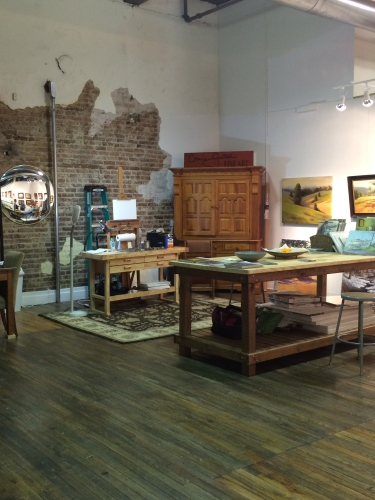 The Emporium studio of Connie Gaertner