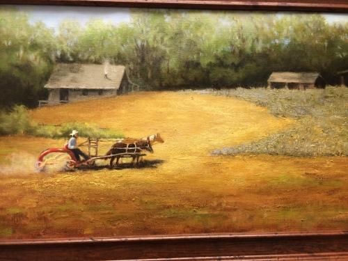 Oil on linen by Diana Dee