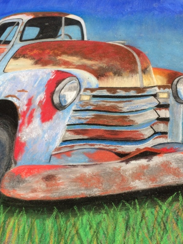 Old truck by Cody Swaggerty. Winner: Second Place, Adult Single Artist