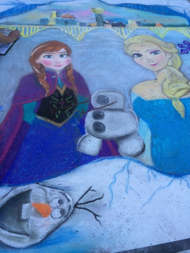 People's Choice Award from the movie Frozen by Deirdre Pokrzywa and Sarah Bellah