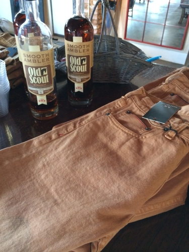 Whiskey-steeped jeans, Marc Nelson Denim