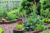 Cottage garden -- Lane Hays
