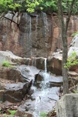 Newest waterfalls in Lane Hays's backyard garden