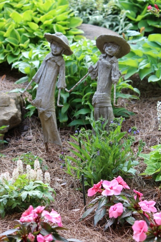 The happy garden of Sandi Burdick