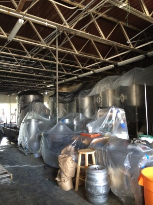 Ready for a move: Saw Works Brewing Company