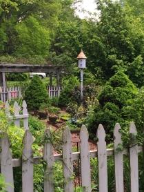 Cottage garden of Lane Hays