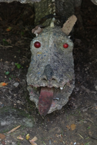 Dragon head, Ave Maria Grotto