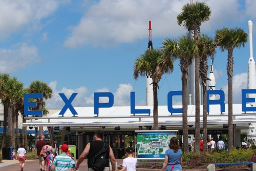 Get ready to explore at Kennedy Space Center Visitor Complex