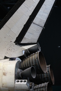 Detail from Space Shuttle Atlantis, Kennedy Space Center Visitor Complex
