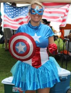 Tennova's version of Captain America