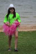 Pink tutus fit right in at KARM Dragon Boat Festival