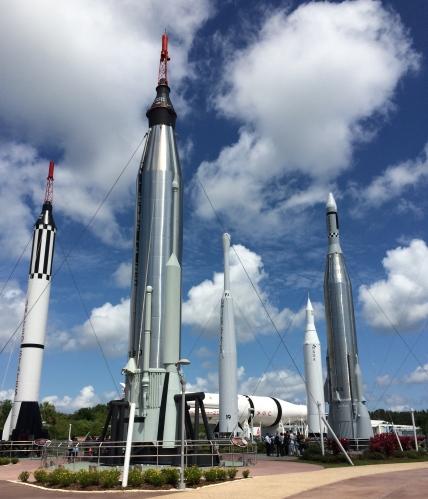 Rocket Garden: Kennedy Space Center Visitor Complex