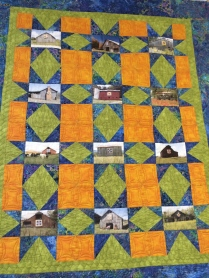 Quilt variation from Loose Threads , Harriman, TN