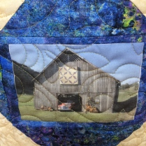 East Tennessee barn quilt square