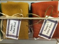 Wool for quilting at Pappy's Quilting Place, Maryville