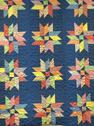 One of the prettiest models along the East Tennessee Shop Hop -- Red Barn Custom Quilts
