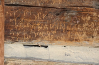 Graffiti marks time and social ways in Cades Cove, TN