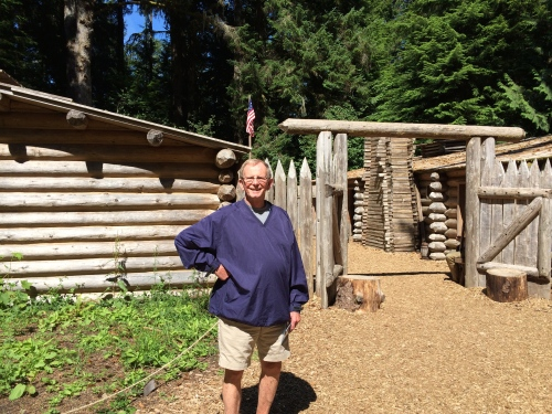 Walk in and around and through Fort Clatsop at the Lewis & Clark National Historical Park near Astoria.