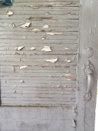 Door detail, Poultry Barn, Knoxville, TN