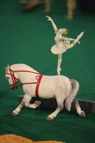 Riding horseback!