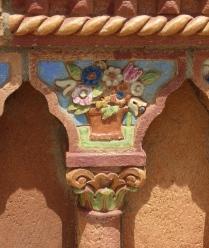 Detail in terra cotta: Ca' d'Zan