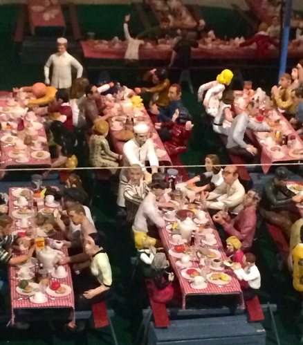 Feeding the workers: Howard Bros. Circus.