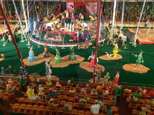 Under The Big Top at Howard Bros. Circus at The Ringling