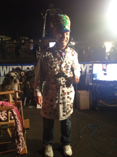 KOB New 4 Anchor and Weatherman -- Steve Stucker, the Most Photographed Human at Balloon Fiesta