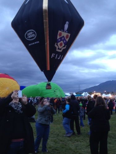 One of the first to lift off last year -- the Fiji balloon of the Phi Gamma Delta fraternity.