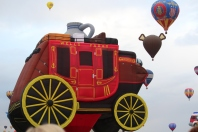 The Wells Fargo stagecoach