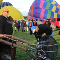 Pulling strings to launch the big ones:  Albuquerque's Balloon Fiesta