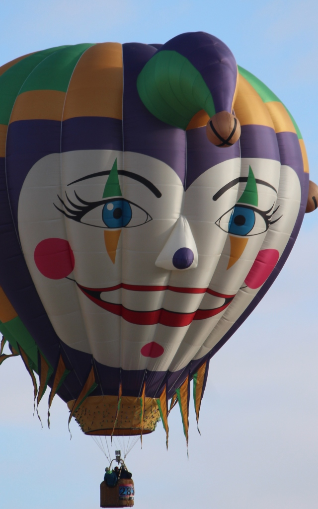 Here's looking at you, Balloon Fiesta 2015! We're ready to launch!