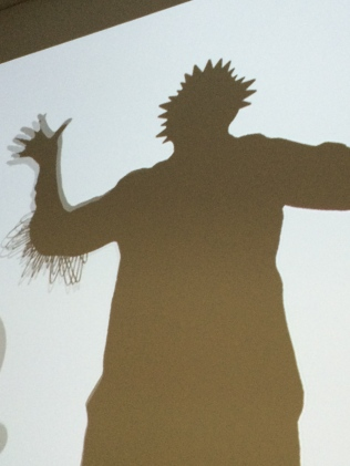 Shadow Monster exhibit: MFAH