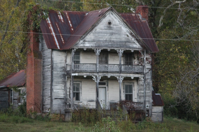 Spooky house -- Hwy. 11W in Tennessee