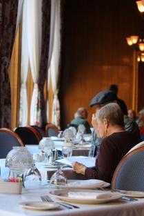 Dining at Bluestone Dining Room, Pipestem Resort