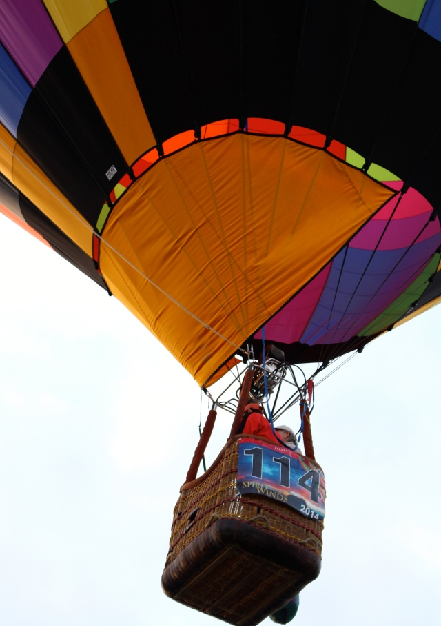 It's up, up, and away at Albuquerque's Balloon Fiesta 2014