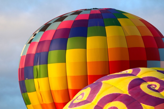 Ready to launch at Balloon Fiesta 2014