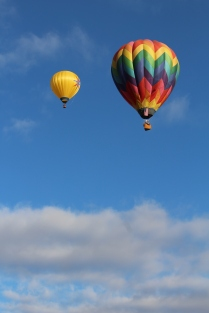 Balloons over Albuquerque -- Balloon Fiesta 2014