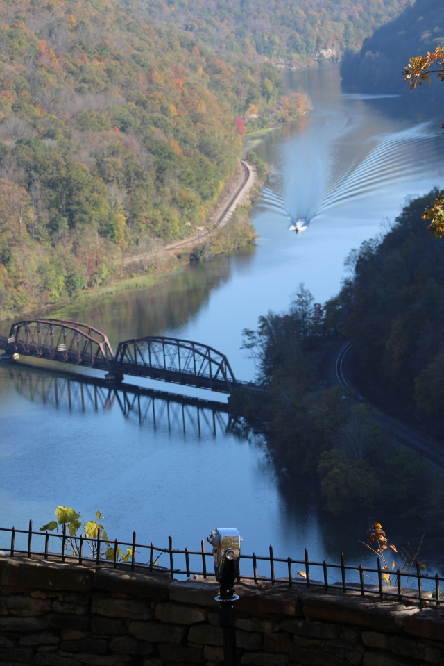 View of Hawks Nest State Park