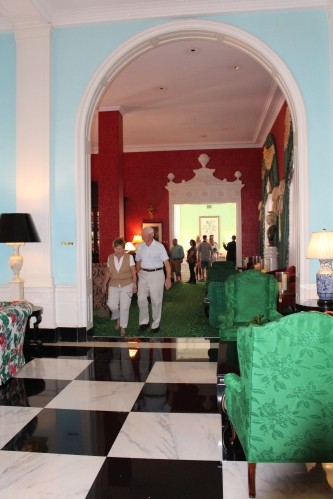 Lobby in The Greenbrier, White Sulphur Springs