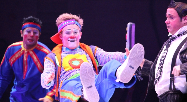 Clowns at Barnum & Bailey Circus