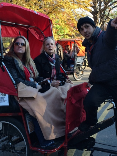Ready for a carriage ride -- and little humming!