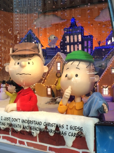 Charlie Brown needs support from Linus even at the happiest time of year.