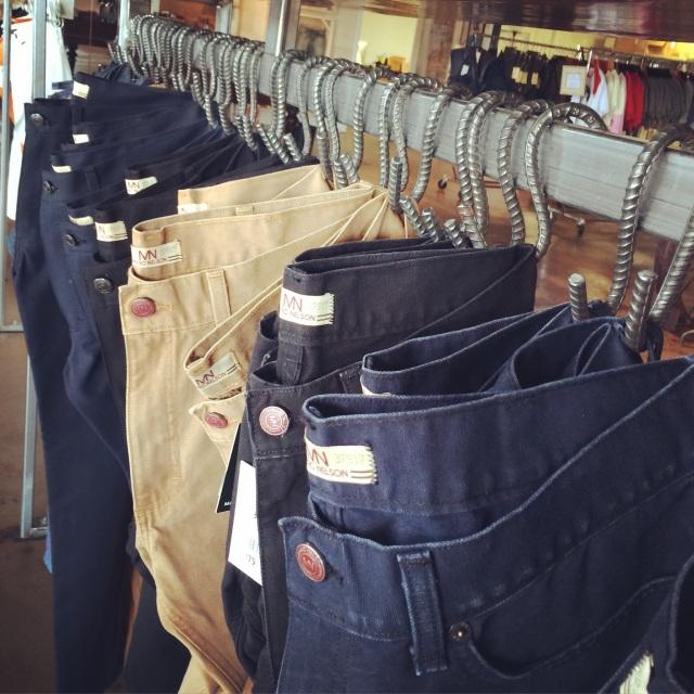 Raw denim jeans from Marc Nelson Denim